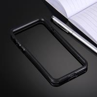 Apple Voor iPhone 7 TPU + PC combinatie Frame hoesje(zwart)