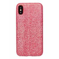 Lunso ultra dunne backcover hoes - iPhone X / XS - stingray rood