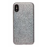 Lunso ultra dunne backcover hoes - iPhone X / XS - stingray zwart