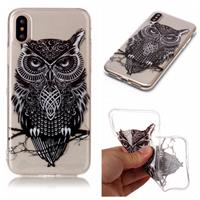 CasualCases Softcase uil hoes iPhone X / XS