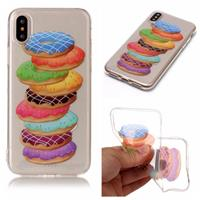 CasualCases Softcase donuts hoes iPhone X / XS