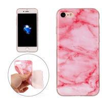 Apple Voor iPhone7 roze marmer patroon TPU beschermende softcase