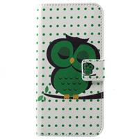 Huawei Honor 6A Style Series Wallet Case - Groen Uil