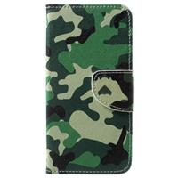 Huawei Honor 6A Style Series Wallet Case - Camouflage