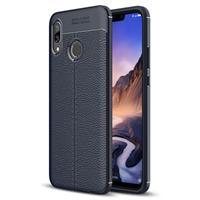 Slim-Fit Premium Huawei Nova 3 TPU Case - Donkerblauw