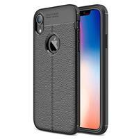 Slim-Fit Premium iPhone XR TPU Case - Zwart