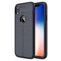 Slim-Fit Premium iPhone XR TPU Case - Donkerblauw