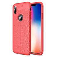Slim-Fit Premium iPhone XS Max TPU Case - Rood