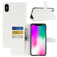 iPhone XR Portemonnee Hoesje met Magneetsluiting - Wit