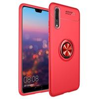 Huawei P20 Pro Magneet Ringgrip Cover - Rood