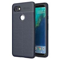 Google Pixel 2 XL Slim-Fit Premium TPU Case - Donkerblauw