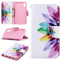iPhone XR Portemonnee Hoesje - Wonder Series - Bloem