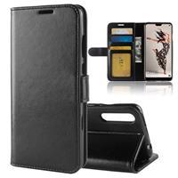 Huawei P20 Pro Premium Wallet Case met Standaard Functie - Zwart
