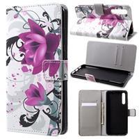 Style Series Huawei P20 Pro Wallet Case - Lotusbloem