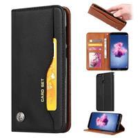 Card Set Serie Huawei P Smart Wallet Case - Zwart