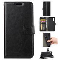 Huawei P20 Portemonnee Hoesje met Magneetsluiting - Zwart