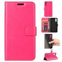 Huawei P20 Portemonnee Hoesje met Magneetsluiting - Hot Pink