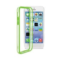iPhone 5C Puro Bumper - Doorzichtig / Groen
