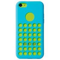 iPhone 5C Code Heat Dissipation TPU Case - Blauw