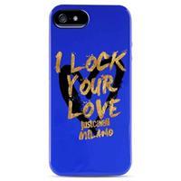 iPhone 5 / 5S / SE Puro Just Cavalli TPU Cover - Blauw