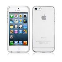 iPhone 5/5S/SE siliconen hoesje - Frost Wit