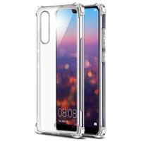Krasbestendig Huawei P20 Pro Hybrid Case - Doorzichtig