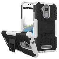 Asus Zenfone 3 Max ZC520TL Anti-Slip Hybrid Case - Zwart / Wit