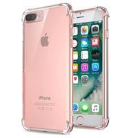 Krasbestendig iPhone 7 Plus / iPhone 8 Plus Hybrid Case - Kristalhelder
