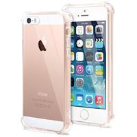 Krasbestendig iPhone 5/5S/SE Hybrid Case - Kristalhelder