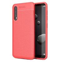Slim-Fit Premium Huawei P20 Pro TPU Case - Rood