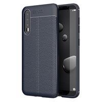 Slim-Fit Premium Huawei P20 Pro TPU Case - Donkerblauw