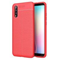 Slim-Fit Premium Huawei P20 TPU Case - Rood
