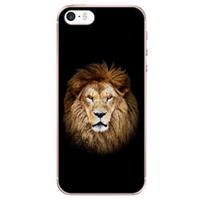 B2Ctelecom Apple iPhone SE | 5S Uniek TPU Hoesje Leeuw