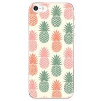 B2Ctelecom Apple iPhone SE | 5S Uniek TPU Hoesje Ananas
