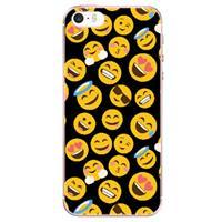 B2Ctelecom Apple iPhone SE | 5S Uniek TPU Hoesje Emoji's