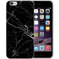 B2Ctelecom Apple iPhone 6 | 6S Uniek TPU Hoesje Marmer Zwart