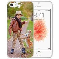 B2Ctelecom Apple iPhone SE | 5S TPU Hoesje Ontwerpen met Foto's
