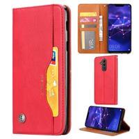 Card Set Serie Huawei Mate 20 Lite Wallet Case - Rood