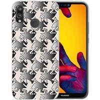 B2Ctelecom Huawei P20 Lite Uniek TPU Hoesje Salamanders