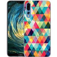 B2Ctelecom Huawei P20 Pro TPU Hoesje Geruit