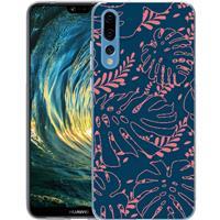 B2Ctelecom Huawei P20 Pro TPU Hoesje Leaves