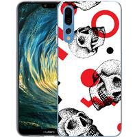 B2Ctelecom Huawei P20 Pro TPU Hoesje Skulls