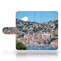 B2Ctelecom HTC U Play Uniek Design Hoesje Huizen