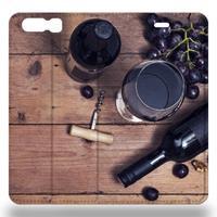 B2Ctelecom Uniek Design Hoesje Wijn Huawei P10 Plus