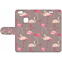 B2Ctelecom Design Hoesje Flamingo's voor de Huawei P10 Lite