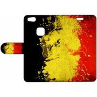 B2Ctelecom Design Hoesje Belgische Vlag voor de Huawei P10 Lite
