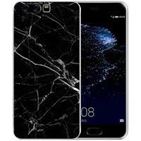 B2Ctelecom Uniek TPU Hoesje Marmer Zwart Huawei P10 Plus