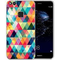 B2Ctelecom Huawei P10 Lite Uniek TPU Hoesje Geruit