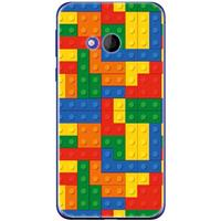 B2Ctelecom HTC U Play Uniek TPU Hoesje Blokken