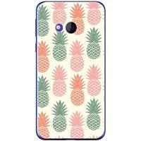 B2Ctelecom HTC U Play Uniek TPU Hoesje Ananas